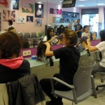 Prácticas de peluquería en salón